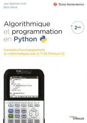 Algorithmique et programmation en python-Eyrolles-9782212677690