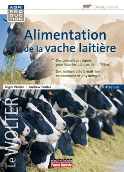 Alimentation de la vache laitière-france agricole-9782855575988