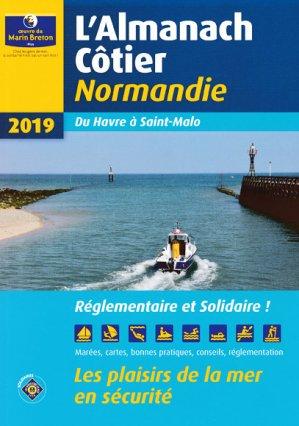 Almanach côtier Normandie 2019-oeuvres du marin breton-9782902855575
