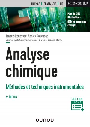 Analyse chimique - dunod - 9782100796076
