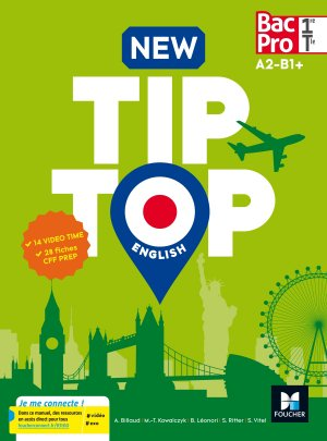 Anglais 1re/Tle Bac Pro New TipTop-foucher-9782216145423