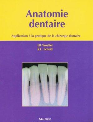 Anatomie dentaire - maloine - 9782224029265
