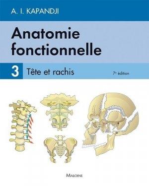 Anatomie fonctionnelle 3 - maloine - 9782224035426
