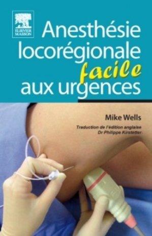 Anesthésie locorégionale aux urgences-elsevier / masson-9782294713606