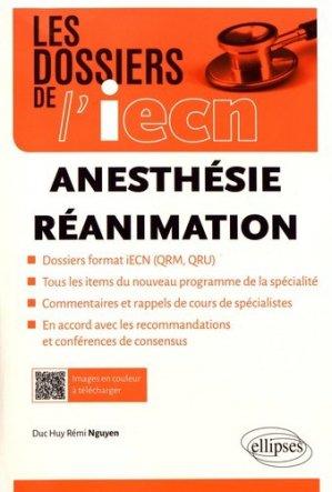 Anesthésie - Réanimation-ellipses-9782340022645