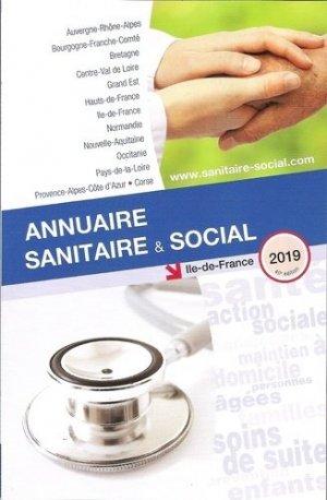 Annuaire sanitaire et social Ile-de-France 2019 - onpc - 9782840072706