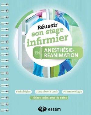 Anesthésie-réanimation - estem - 9782843718229