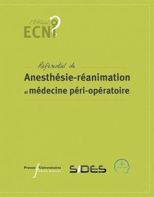 Anesthésie-réanimation et médecine péri-opératoire-presses universitaires francois rabelais-9782869066557