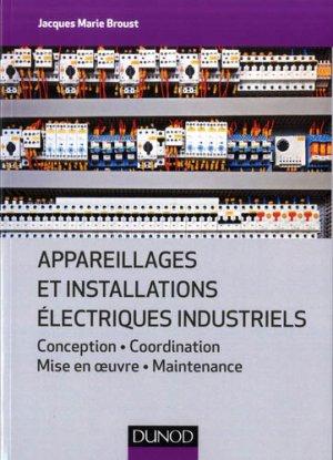 Appareillages et installations électriques industriels-dunod-9782100797271