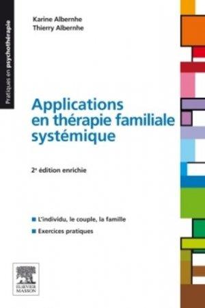 Applications en thérapie familiale systémique-elsevier / masson-9782294716577