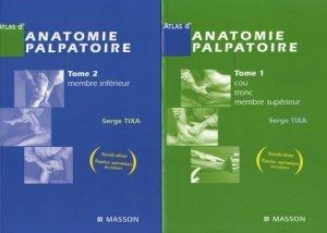 Atlas d'anatomie palpatoire Pack T1 et T2-elsevier / masson-9782294093746