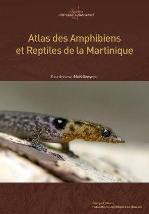 Atlas des Amphibiens et Reptiles de Martinique-biotope-9782366621884
