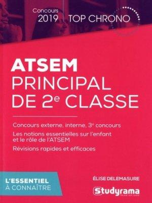 ATSEM principal de 2e classe - studyrama - 9782759039128
