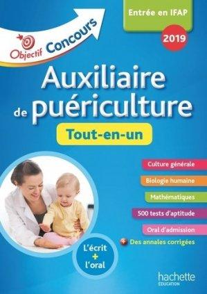 Auxiliaire de puériculture : tout-en-un 2019-hachette-9782017081333
