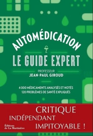 Automédication - Le guide expert-de la martiniere-9782732477046