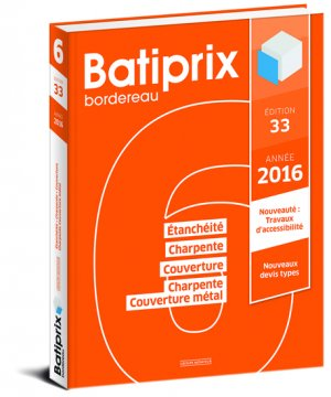 Batiprix 2016 Volume 6-groupe moniteur-9782281119831
