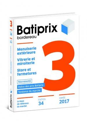 Batiprix 2017 Volume 3-groupe moniteur-9782281141139