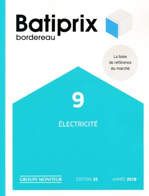 Batiprix 2018 Volume 9-groupe moniteur-9782281141818