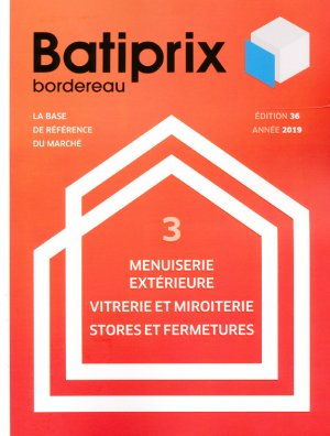Batiprix 2019 Volume 3-groupe moniteur-9782281142310