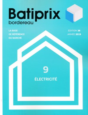 Batiprix 2019 Volume 9-groupe moniteur-9782281142372
