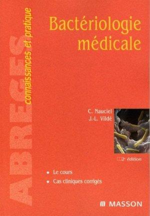 Bactériologie médicale - elsevier / masson - 9782294018589