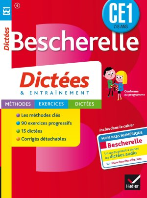 Bescherelle Dictées CE1 - hatier - 9782218978814