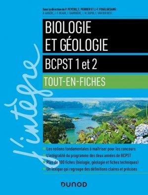 Biologie et géologie - BCPST 1 et 2 - dunod - 9782100795956