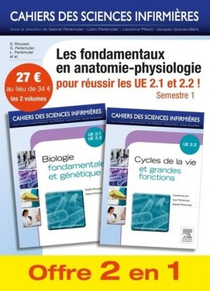 Biologie fondamentale + Cycles de la vie et grandes fonctions - elsevier / masson - 9782294745232