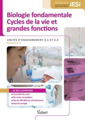 Biologie fondamentale et Cycles de la vie et grandes fonctions-vuibert-9782311200836