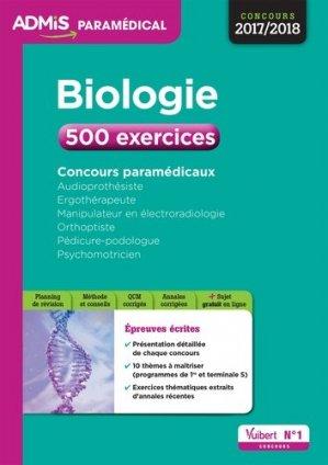 Biologie / exercices et annales-vuibert-9782311203745