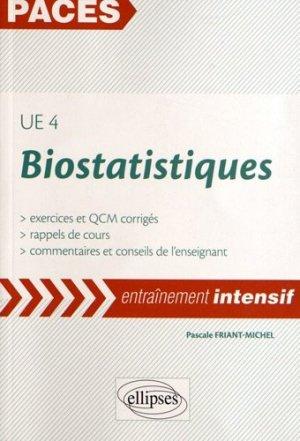 Biostatistiques UE 4-ellipses-9782729876326