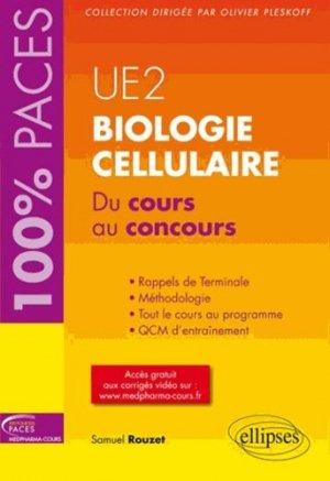 Biologie cellulaire - ellipses - 9782729883607