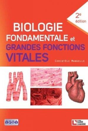 Biologie fondamentale et grandes fonctions vitales-lamarre-9782757310069