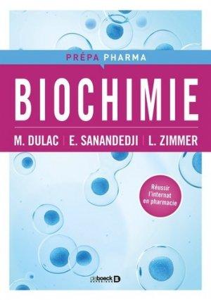 Biochimie - de boeck superieur - 9782807306875