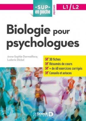 Biologie pour psychologues-de boeck-9782807319554