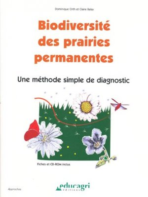 Biodiversité des prairies permanentes-educagri-9782844448002