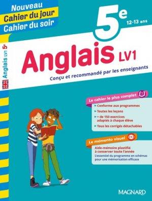 Cahier du jour/Cahier du soir Anglais 5e-magnard-9782210762404