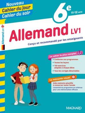 Cahier du jour/Cahier du soir Allemand 6e-magnard-9782210762435