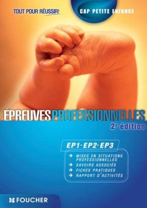 Epreuves professionnelles EP1-EP2-EP3 - foucher - 9782216128211