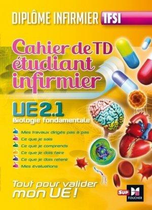 Cahier de TD étudiant infirmier - foucher - 9782216143177