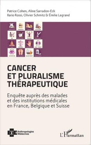 Cancer et pluralisme thérapeutique-l'harmattan-9782343077314