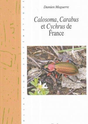 Calosoma, Carabus, et Cychrus de France-magellanes-9782353871261
