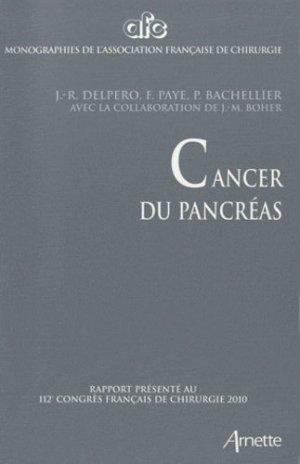 Cancer du pancréas - arnette - 9782718412405