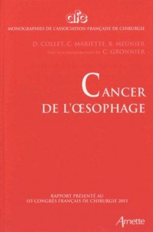 Cancer de l'oesophage-arnette-9782718413280