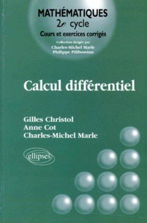 Calcul différentiel-ellipses-9782729867515