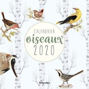 Calendrier oiseaux 2020 - 8 - 9782815313582