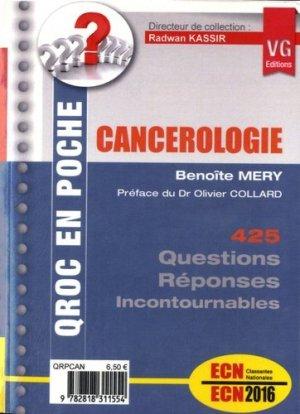 Cancérologie - vernazobres grego - 9782818311554