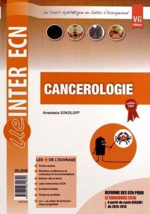 Cancérologie - vernazobres grego - 9782818312629