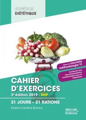 Cahier d'exercices BTS Diététique-med-line-9782846782388