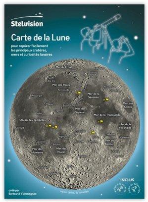Carte de la Lune - stelvision - 9782956341734
